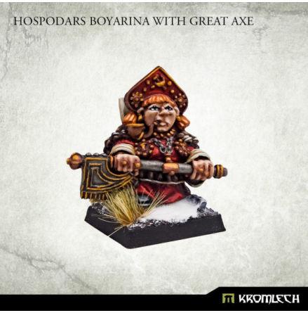 Hospodars Boyarina with great axe