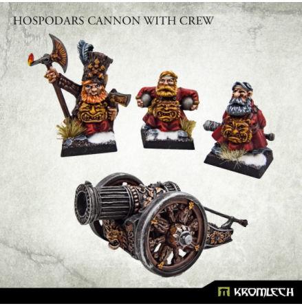 Hospodars Cannon with crew