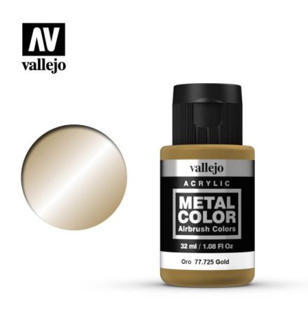Gold (VALLEJO METAL COLOR)
