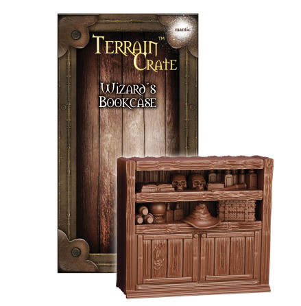 Wizards Bookcase