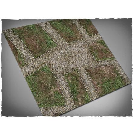Game mat - Cobblestone Streets 3x3 foot