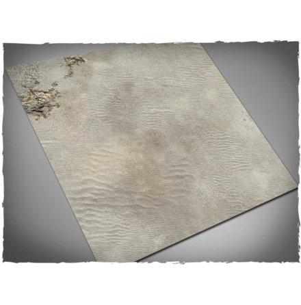 Game mat - White Desert 3x3 foot