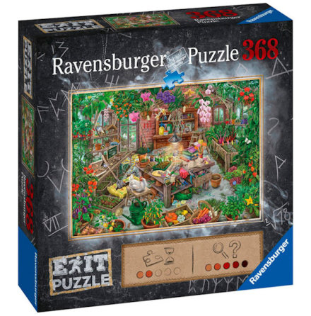 Puzzle EXIT 9: In The Greenhouse