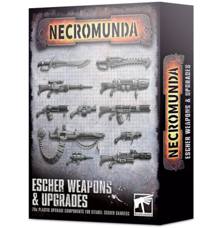 NECROMUNDA: ESCHER WEAPONS & UPGRADES