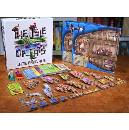 The Isle of Cats: Late arrivals 5/6 player expansion