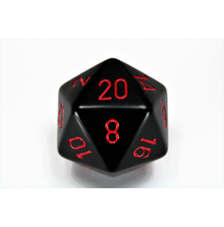 Opaque 34mm d20 Black/red