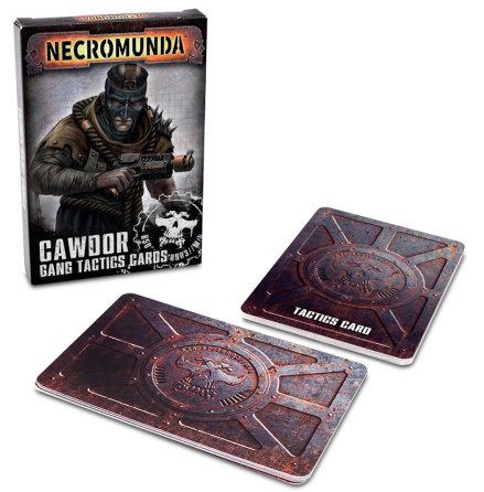 NECROMUNDA: CAWDOR GANG TACTICS CARDS (2021)