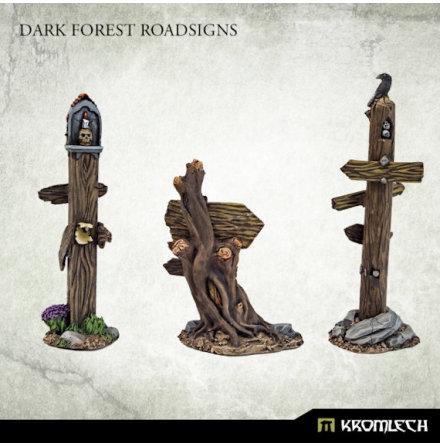 Dark Forest Road Signs
