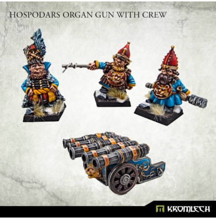 Hospodars Organ Gun with crew
