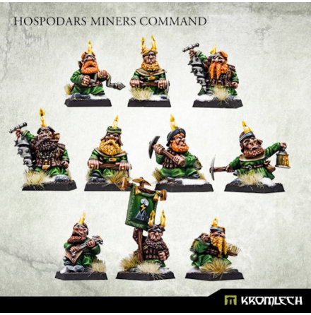 Hospodars Miners Command