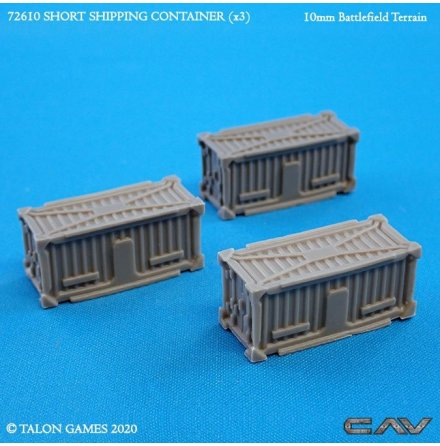SHORT SHIPPING CONTAINER (10 mm skala)