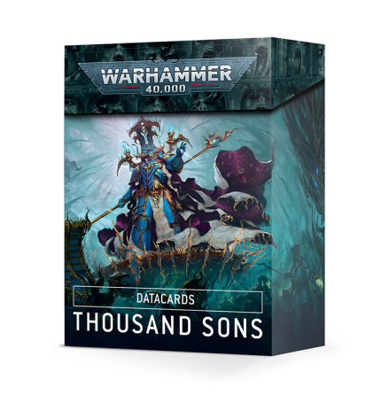 DATACARDS: THOUSAND SONS (ENG 2021)