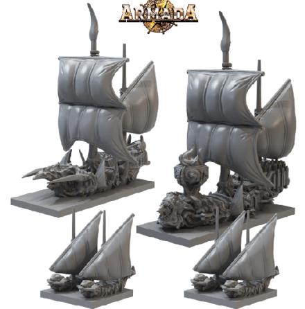 ARMADA: Twilight Kin Booster Fleet (2021)