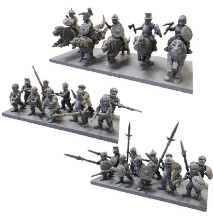 Halfling Battlegroup (Release September 2021)
