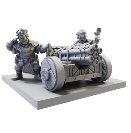 Halfling Howitzer (Release September 2021)
