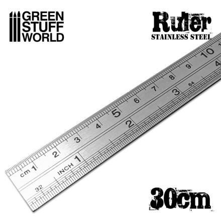 Stainless Steel ruler 30cm
