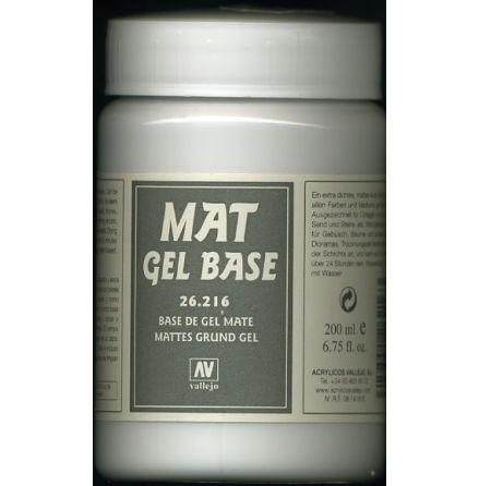 MATTE GEL BASE 200 ml