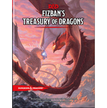 D&D 5th ed: Fizban´s Treasury of Dragons (release 19:e oktober 2021)