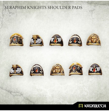 Seraphim Knights Shoulder Pads