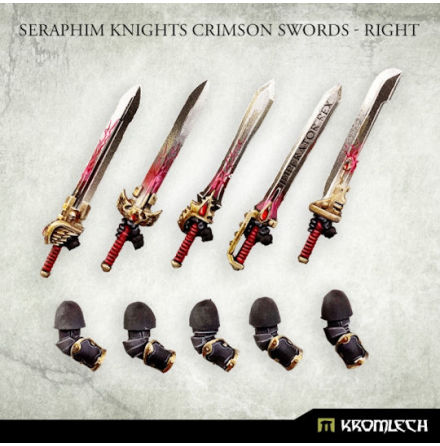 Seraphim Knights Crimson Swords - Right