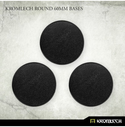 Kromlech Round 60mm Bases
