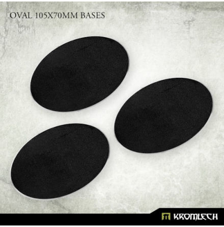 Oval 105x70mm Bases