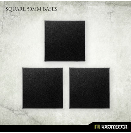 Square 50mm Bases
