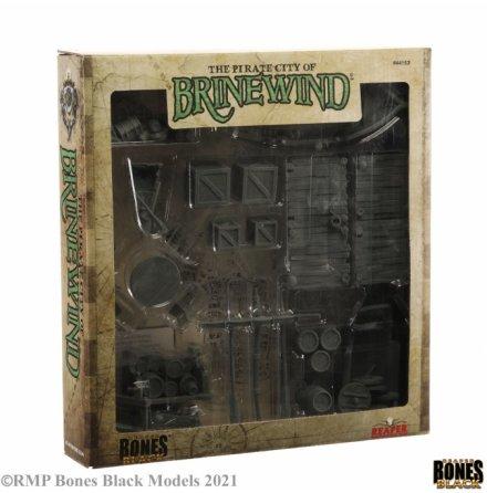 PIRATE CITY OF BRINEWIND BOXED SET (BONES BLACK)