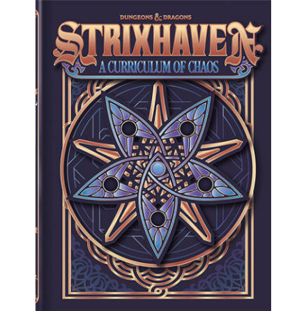 D&D 5th ed: Strixhaven Curriculum of Chaos Alt cover