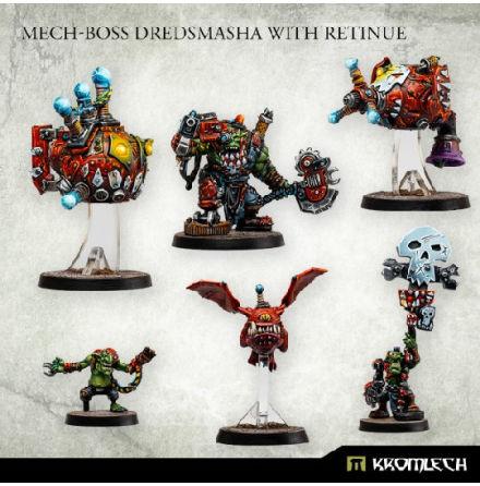 Mech-Boss Dredsmasha with Retinue