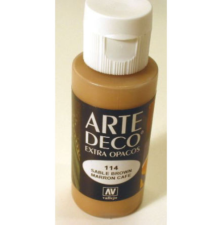 ART DECO 114 60 ml SABLE BROWN