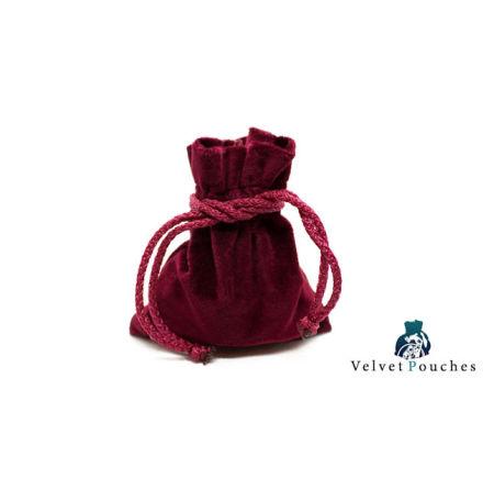 Velvet Pouch - Red