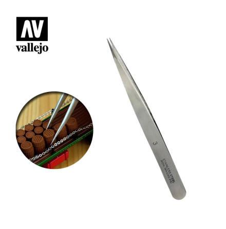 Straight Fine Tweezers (120 mm)