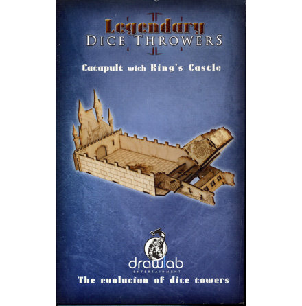 Catapult Dice Thrower & Kings Castle Dice Tray