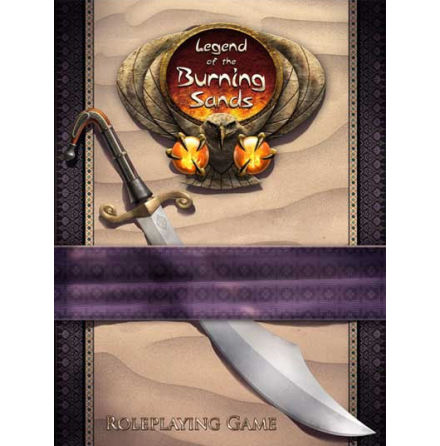 Legend of the Five Rings RPG: Legend of the Burning Sands Rulebook (Hardcover)