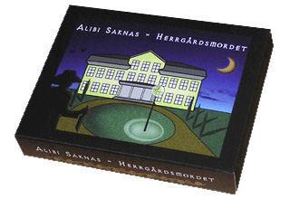 Alibi Saknas - Herrgårdsmordet (Sällskapsspel/Partyspel)