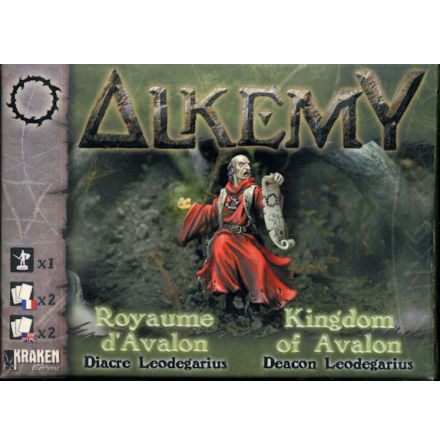 Alkemy Kingdom of Avalon: Deacon Leodegarius (1)