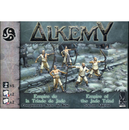 Alkemy Jade Triad Empire: Reinforcement Box (x5)
