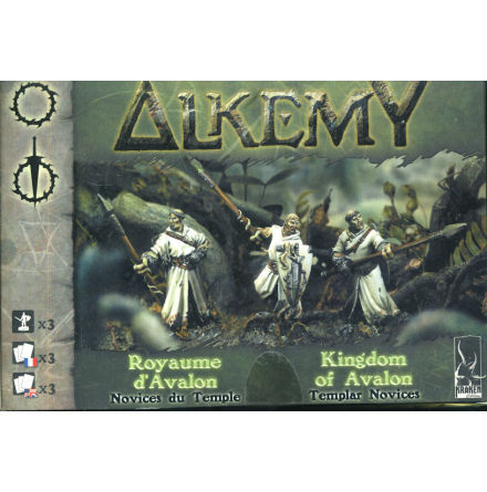 Alkemy Kingdom of Avalon: Templar Novices (3)