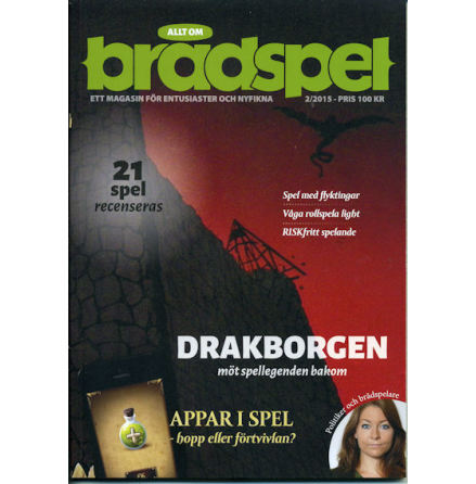 Allt om Brädspel 2015 No 2