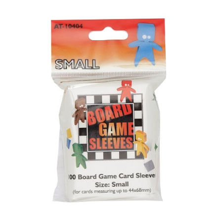 Board Game Sleeves CLEAR SMALL (44x68 mm) (100) (Arcane Tinmen)