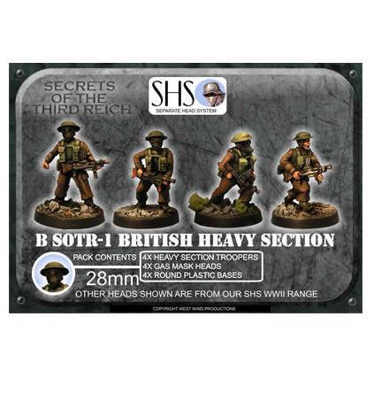 Heavy Section Assault Bren 1 (SHS) Gas Mask Heads (4)