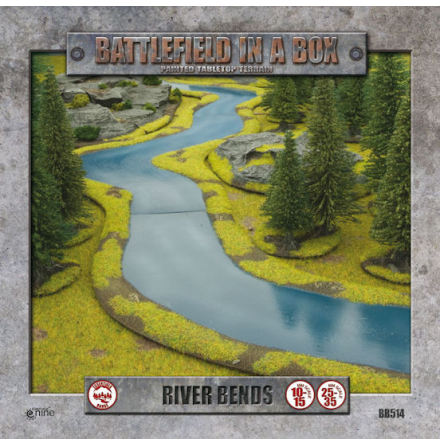 River Expansion - Bends (10-15 eller 25-35 mm skala)