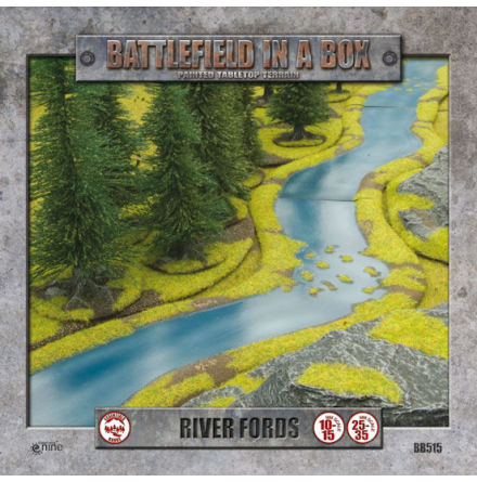 River Expansion - Fords (10-15 or 25-35 mm scale)