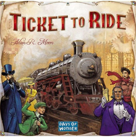 Ticket to Ride: (Original, English)