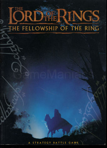 LOTR: The Fellowship of the Ring Rulebook