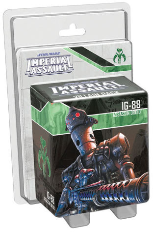 Star Wars Imperial Assault: IG-88 Villain Pack