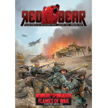 Red Bear (LW Eastern Front Allies Compilation) 219 pages (Hardcover)
