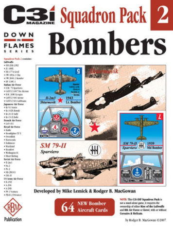 C3i DiF Squadron Pack #2: Bombers